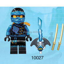 Ninjagoes Anime Jay minifigures building blocks bricks toys for children gift brinquedos compatible with legoe pirates