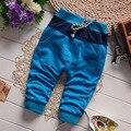 Pantalones del bebé Ropa de Los Muchachos 2016 Nueva Primavera Ropa Para Niños Muchachas de Los Muchachos Pantalones Harem 100% Pantalones de Algodón Bebé