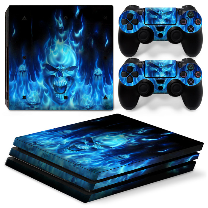 Custom waterProof vinyl case skin sticker for PS4 PRO