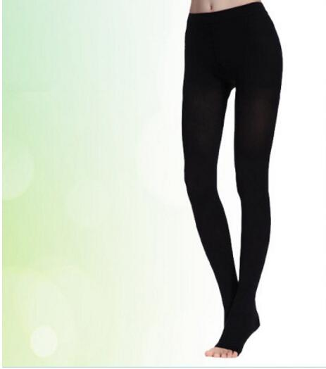 2018 New High Quality 30-40mmHg Medical Stocking Pressure Skin Color Nylon Pantyhose Compression Stockings Stovepipe Stockings