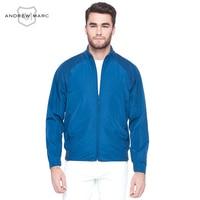 Andrew Marc MNY 2017 New Fashion Men Jacket Coat Windproof Casual Street Gentlemen Stand Colloar Overcoats Man Jackets TM7AC226