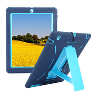 Shockproof Heavy Duty Case For Ipad 3 Silicone Hard Case For Ipad 4 Kickstand Cover For