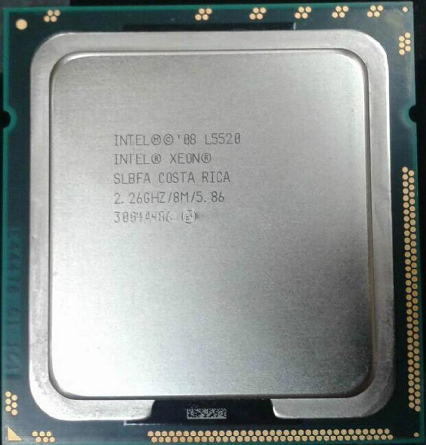 Original L5520 Processor 2.26GHz 8MB Quad-Core LGA 1366MHz Server CPU