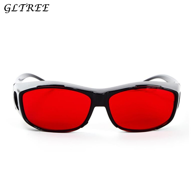 GLTREE 2018 Red Green Color Blind Glasses Spectacles Corrective Men Women Color-blindness Glasses Driver Traffic Eyeglass G393