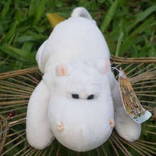 Fridge Magnet Kids Hippo Refrigerator Sticker Message-Holder Animals Home-Decor White