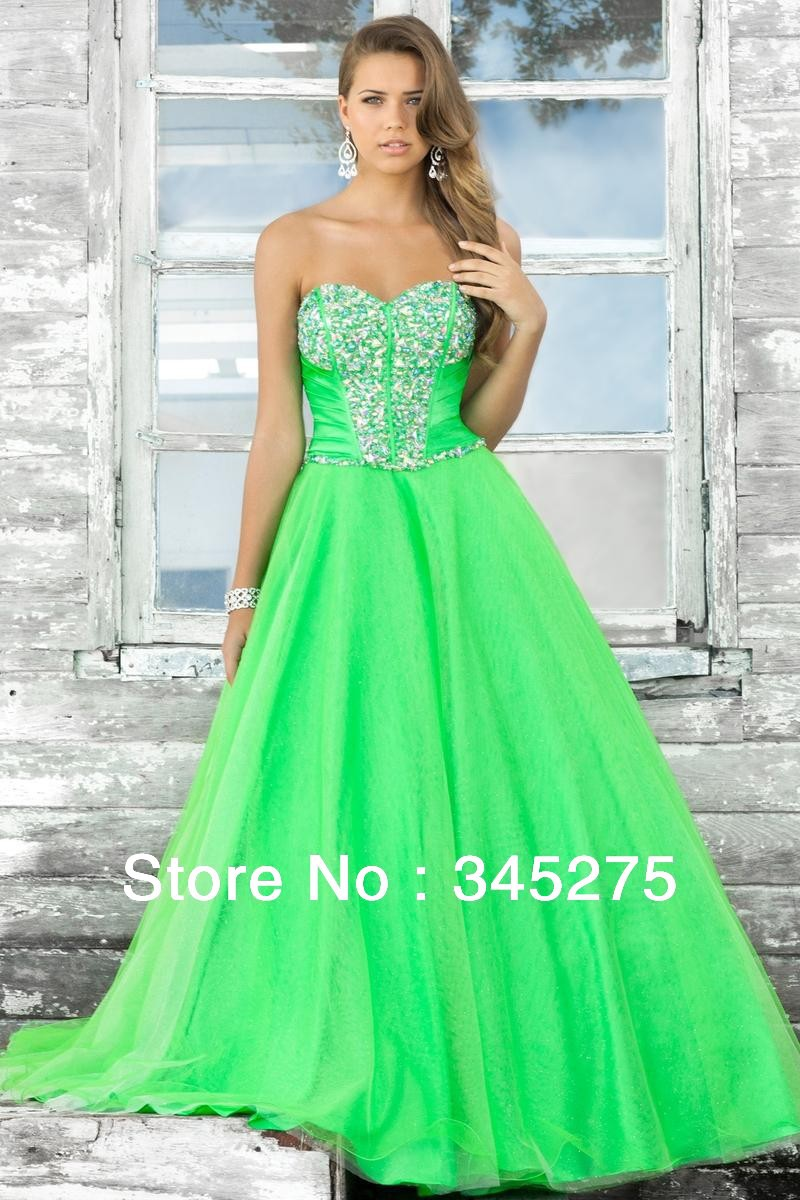 green ball gowns for sale | Gommap Blog
