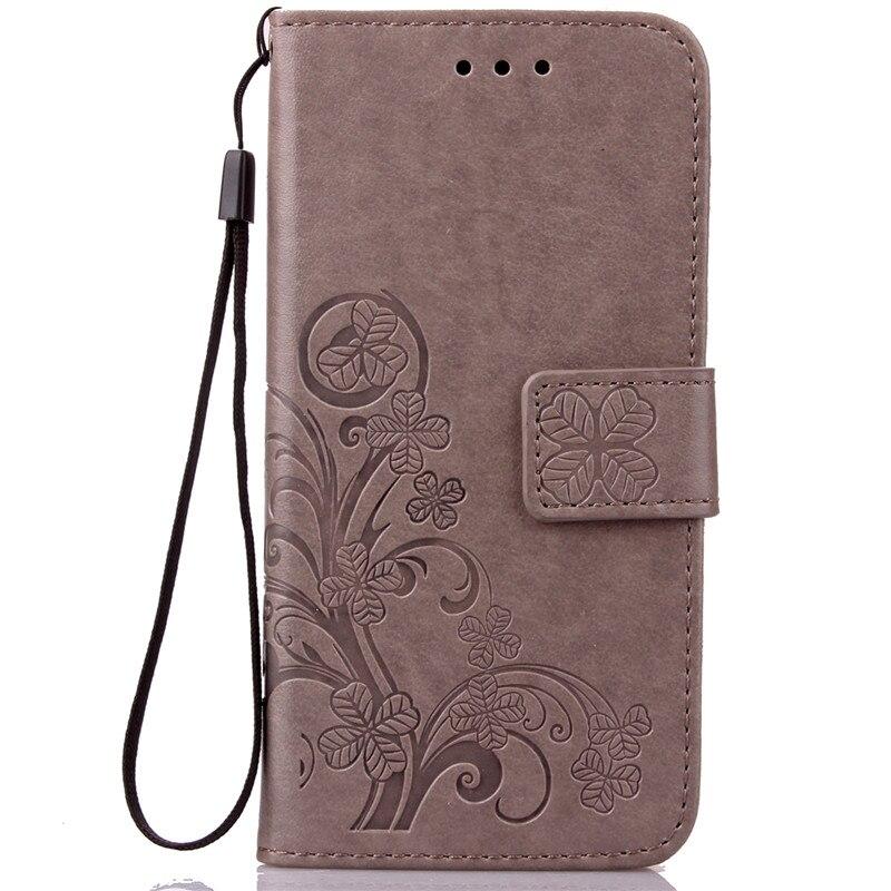 Dla iPhone 5S 4S 5 6 S 6S 8 7 Plus Skórzane etui z klapką do - Części i akcesoria do telefonów komórkowych i smartfonów - Zdjęcie 3