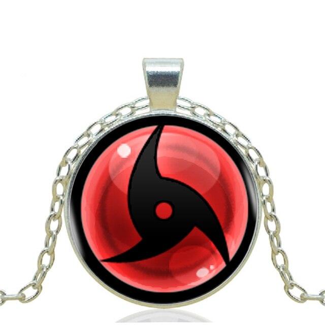 Sharingan Eyes Pendant Necklace