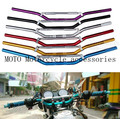 "Aluminum 7/8"" inch 22MM Handle bar Motorcycle handlebar For Honda CB400 VTEC VTR XJR Motorcycle Handle bar Grip Handlebar"
