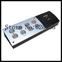 8 Outlet US Mains Power Filter Strip Board Distributor 110 250V HiFi