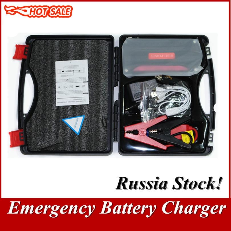 Chargeur de batterie de secours portatif de voiture de démarreur de saut de voiture de capacité élevée pour la batterie externe 12 V d'essence et de voiture Diesel