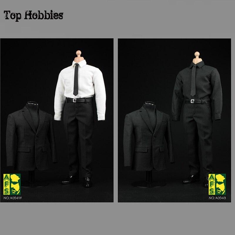 AFS A004 1/6 Skala Männlichen Schwarzen Kleidung Anzug Anzüge Für 12 Zoll 1:6 Action Figur Männer Agenten von S. h. ICH. e. l. d. phillip J. coulson-in Action & Spielfiguren aus Spielzeug und Hobbys bei  Gruppe 1