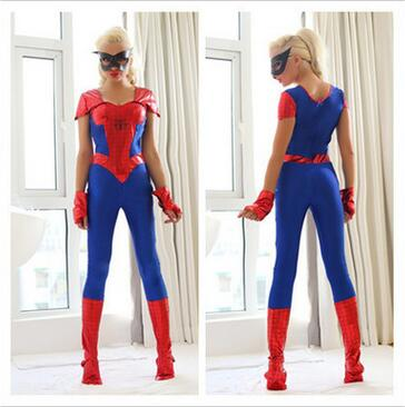 Red Blue Spider-Man Superhero Costume 3D Printed  Spandex Spiderman Cosplay costume  zentai Costume Custom Made Available