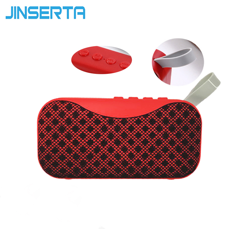 JINSERTA Wireless Bluetooth 4.2 Speaker Portable Mini Hands Free 3W Loud Sound Box Speakerphone with Built-in Mic