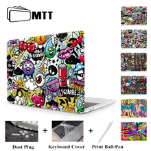 MTT Graffiti Print Case For Macbook Air Pro Retina 11 12 13 15 inch With Touch Bar Laptop Bag Sleeve For macbook Air 13.3