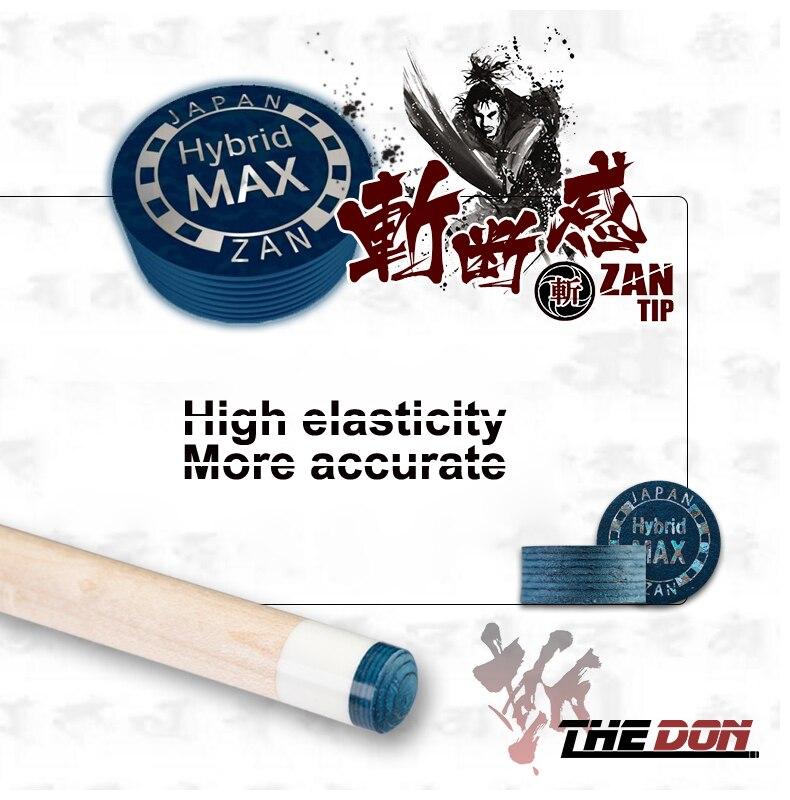 ZAN 14MM Blue Tip Billiard Leather Cue Tip S/M/H 8 Layers Leather Billiard Pool Supplies Professional Accessories  China 2019