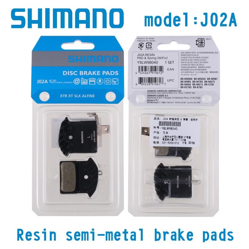SLX M666 XT M785 DEORE M615 metallic pads sport Plaquettes SHIMANO XTR M985