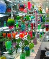 12 Colores 12 bolsas 36000 unids/lote Cristal Del Suelo de Barro de Agua Perlas de Gel Bio Bola De La Flor/Weeding/Deraction
