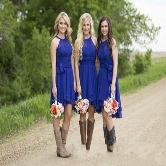 Country bridesmaids dresses cheap