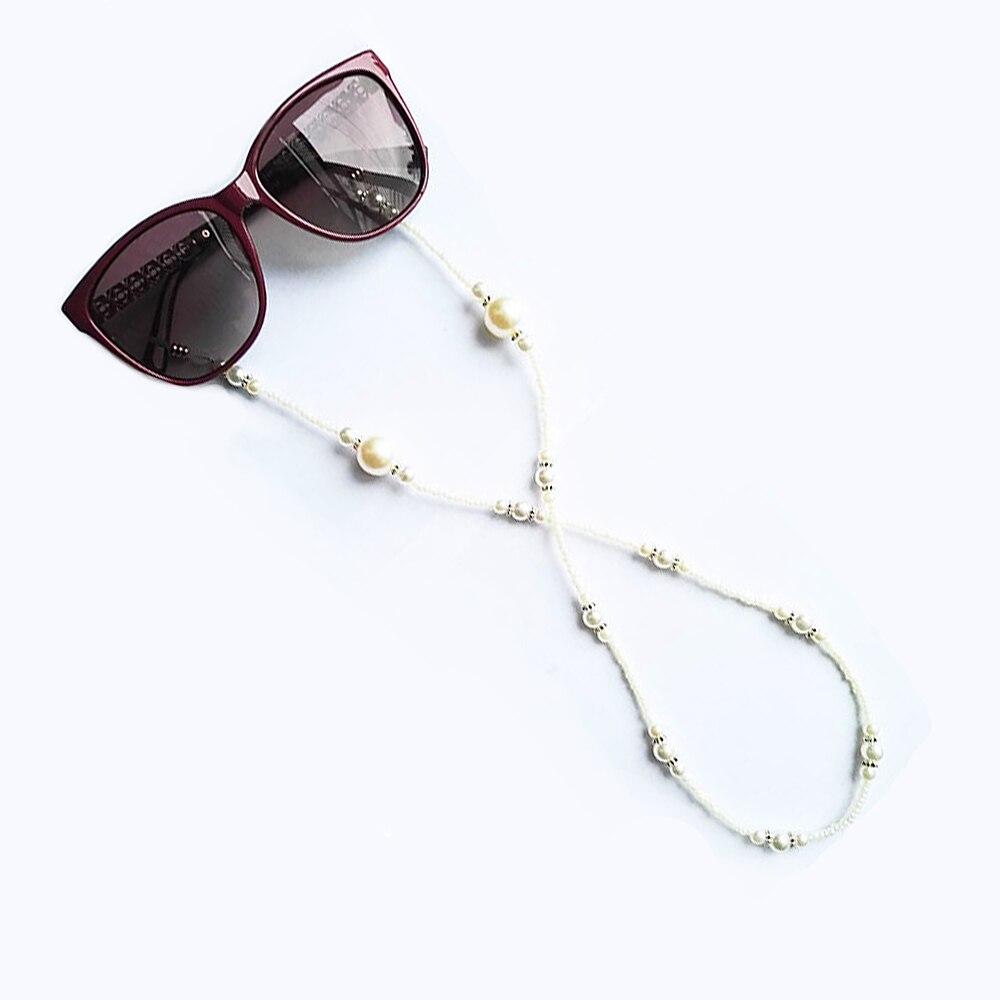 62bd3fef45b00d Nouvelle Arrivée De Mode Imitation Perles Lunettes Accessoires Lunettes  Cordons Chaînes pour Lunettes De Soleil pour Femmes Lunettes De Soleil  Sangle dans ...