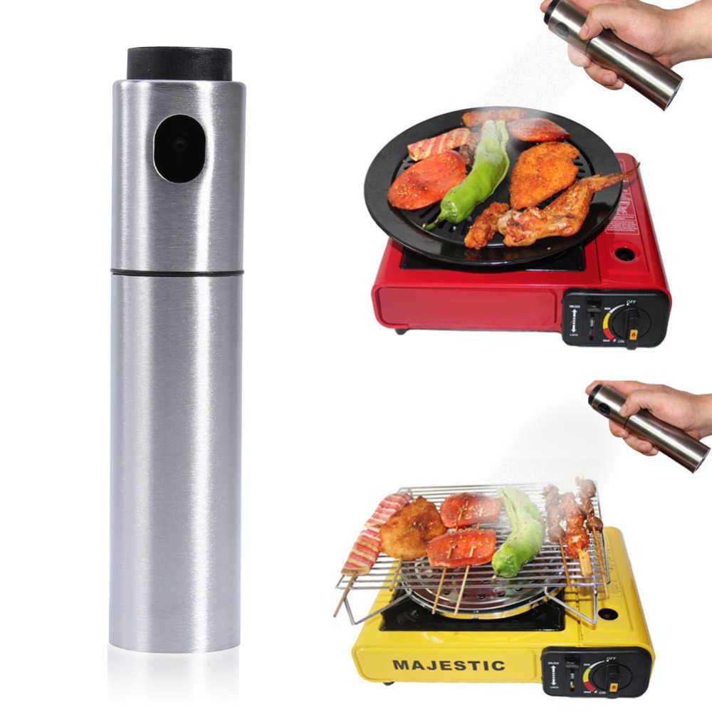 البخاخ زجاجة 80/135 ml زيت الطهي يمكن جرة وعاء النفط أداة يمكن طهي الملحقات أدوات المطبخ زجاجة زيت