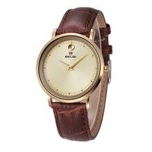 Marca de Relojes de Lujo de Las Mujeres de Moda Correa de Cuero Relojes de Ginebra Para Las Mujeres Ocasionales MS Tienda de relojes mujer de Cuarzo Reloj de pulsera 2016