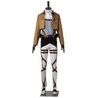 Attack On Titan Cosplay Costume Levi Rivaille Rival Ackerman Cosplay Anime Shingeki No Kyojin Survey Corps