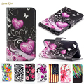 Leather Wallet Flip Case For Samsung Galaxy GT S7562 S7580 J3 J5 J7 2016 A3 A5 2017 J2 Prime S3 S4 S5 mini S6 Edge S7 J1 Cover