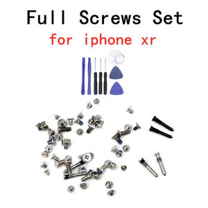 Full-Screw-Set Mobile-Phone-Parts Repair Hot-Sale for XR Bolt-Complete-Kit Replacement-Assembly