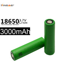 4pcs 18650 Battery 3000mah 30A 3.7v icr 18650 li-ion lithium battery for SONY VTC6  battery for powerbank e-cigarette