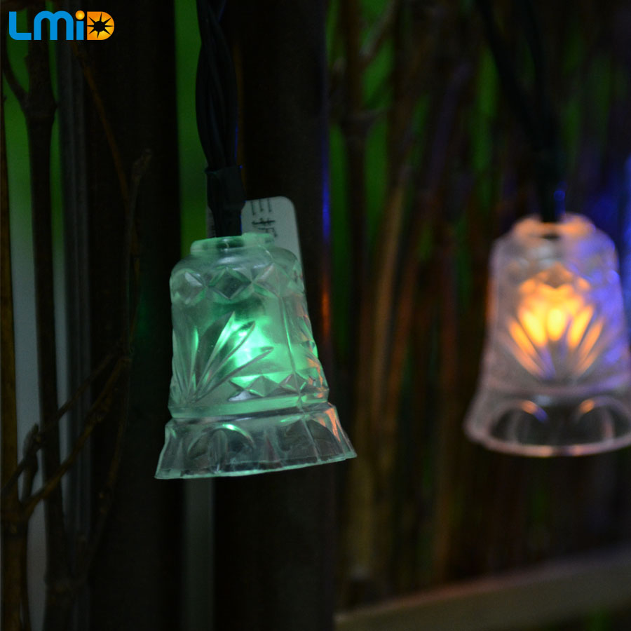 LMID Holiday Lighting solar powered led fairy lights led christmas lights outdoor solar lights garden decoration string wedding