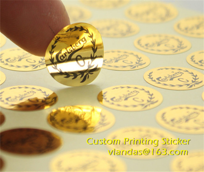 Compare Prices On Adhesive Label Foil Online ShoppingBuy Low - Custom gold foil stickers