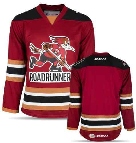 6f1b0b666 Tucson Roadrunners WHITE red Men s Hockey Jersey Embroidery Stitched  Customize any number and name