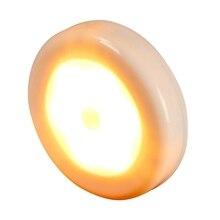 Светодиодный инфракрасный датчик движения, ночник, магнитный настенный светильник, шкаф, лестница, кухонная Индукционная лампа, аварийное освещение