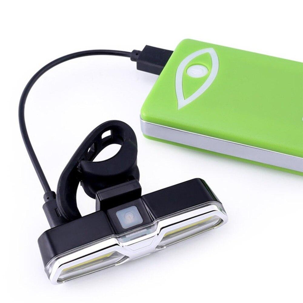 USB Waterproof Safety Warning LED MTB Bike Rear Light Reflectors Rechargeable