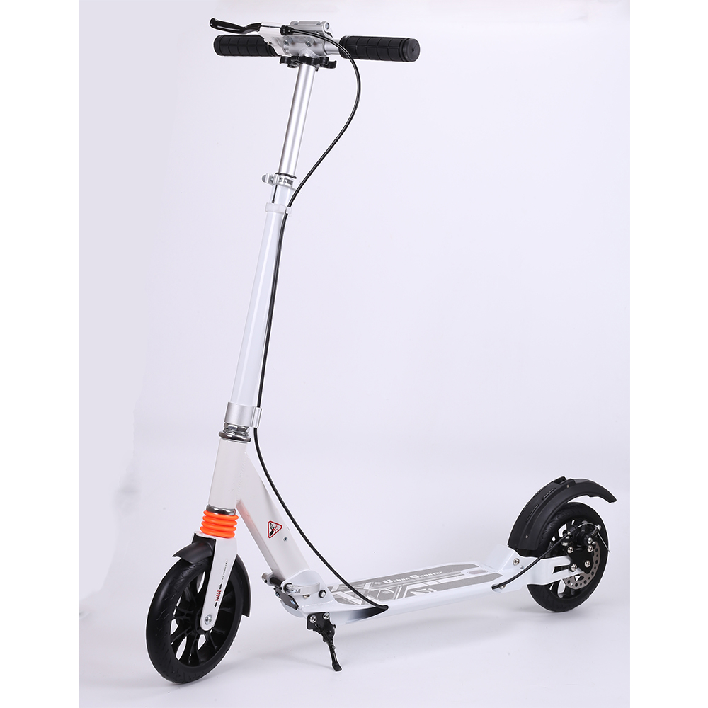 Kick Scooter with Disc Brake for Adults Teens Handbrake Scooter Push Folding Scooter 8 Inch Wheels perfect for Urban/City cool 350w 8 inch electric scooter adjustable height led headlight folding travel tools adults kids toys for gift dropshipping