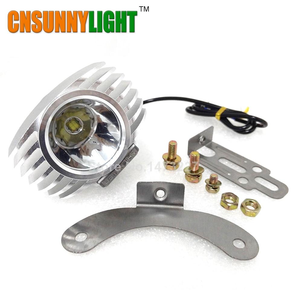 Spotlight Headlight: Led Car External Headlight 15W 1800LM 8 85V Motorcycle Fog