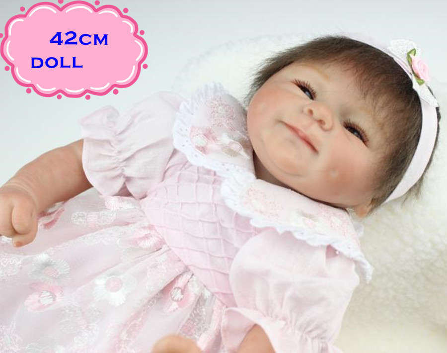 18inch Best Gift Brinquedos NPK Silicone Reborn Baby Dolls In Pink Skirt Like A Lovely Princess Real Looking Doll Reborn For Kid corporate real estate management in tanzania