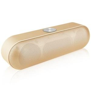 Image 3 - TOPROAD Bộ Loa Di Động Bluetooth Không Dây Âm Thanh Stereo Boombox Loa Có Mic Hỗ Trợ TF AUX FM Radio USB Altavoz Enceinte