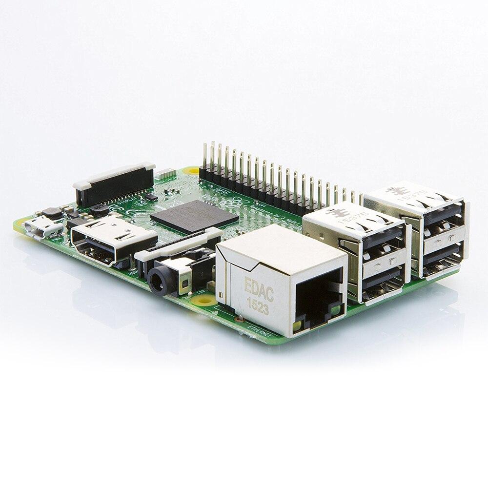 Raspberry Pi 3 Modelo B frambuesa Pi Pi3 B Pi 3 Pi 3B con WiFi y Bluetooth - 5
