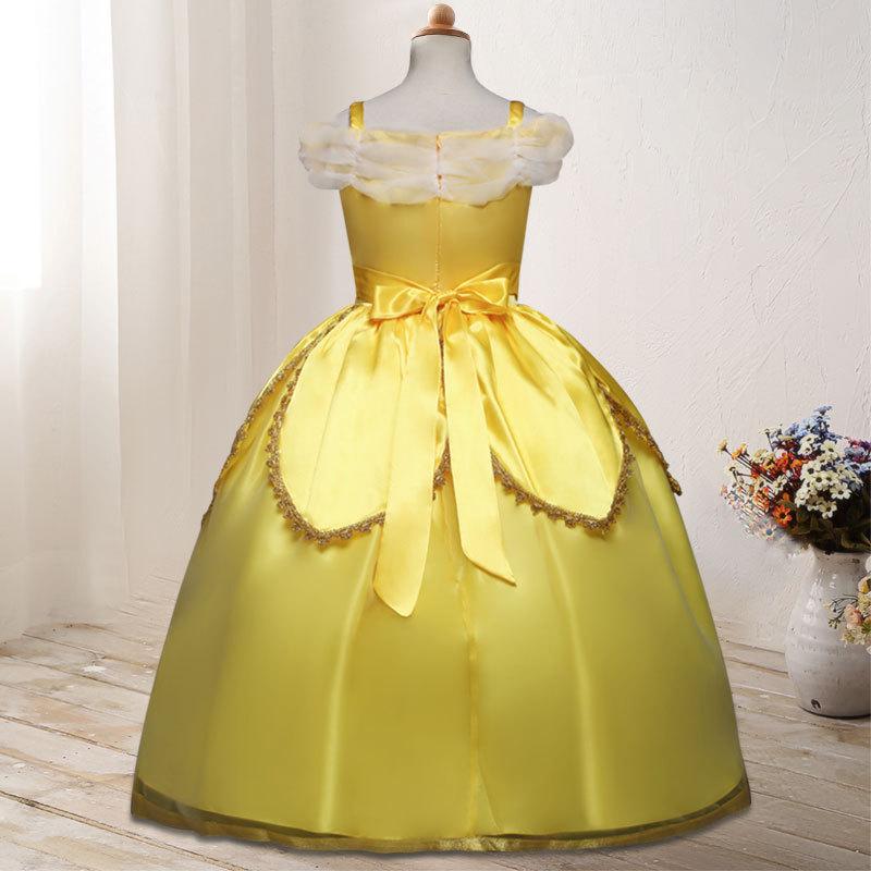 It's yiiya Fashion Cartoon Flower Girl Dresses Elegant Off The Shouler Girl Dress B021