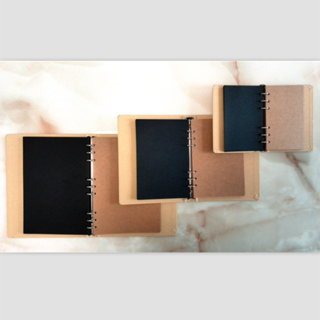 Retro Kraft Paper Notebook Cover
