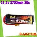 Высокое качество BlackMagic 11.1 В 2700 мАч 25c 3S1P аккумулятор для джи фантом липо - аккумулятор многое другое время + бесплатная доставка