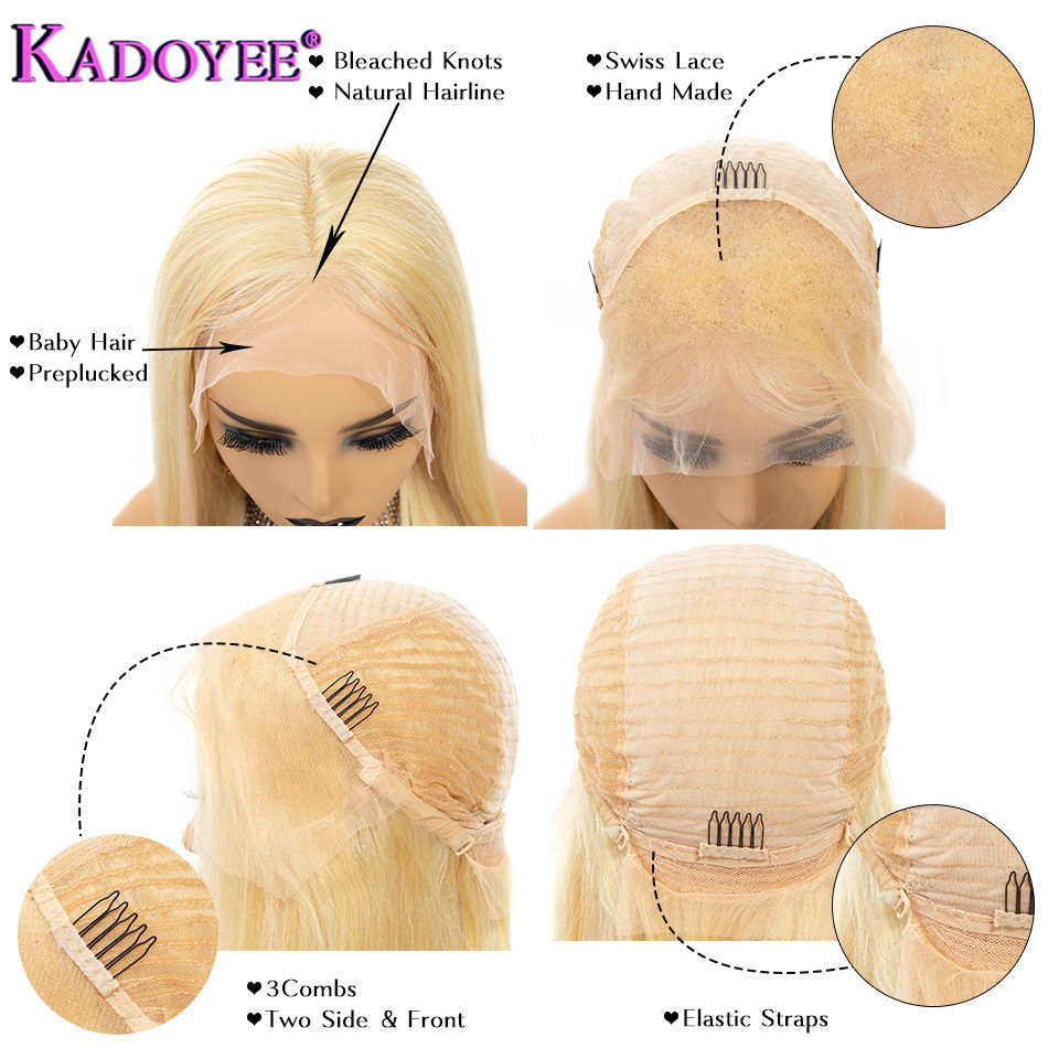 Glueless-613-Honey-Blonde-Human-Hair-Wigs-Brazlian-Remy-Straight-Pre-Plucked-Lace-Front-Wig-150 (3)