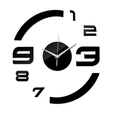 2019 New Quartz Watch Wall Clock Acrylic Mirror Diy Clocks Reloj De Pared Horloge Murale Living Room Modern Home 3d Stickers