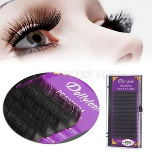 e977f2450a6 0.07mm B C D J Curl Individual Eyelash Extensions Eyelashes Mink Blink  Lashes Tray