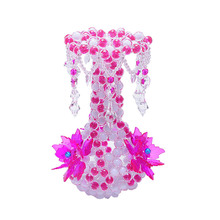 Flower Vase Luminous Creative Gift Household Decoration Artificial Vases Acrylic Bottle Living Room Table