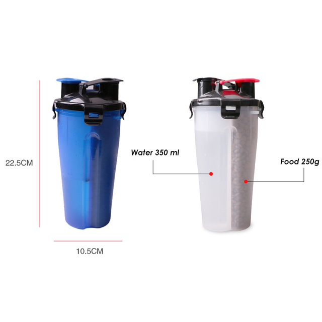2 in 1 Pet Water and Food Feeder