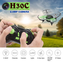 Newest JJRC H30C Mini RC Quadcopter Hovering flight Drone with 2MP Camera 2.4G 6Axis Headless Mode RTF RC Helicopter Toys VS H33