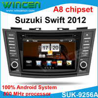 100% Android!!! Car DVD for Suzuki Swift 2012 with Android System 512MB memory 800 MHz 3G Wifi GPS RDS BT DVD USB SD IPOD